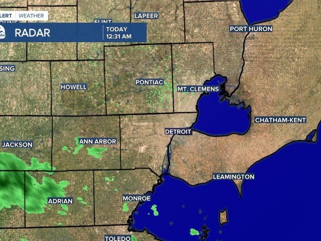 Metro Detroit Radar Map