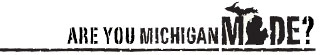 Are you Michigan Made?