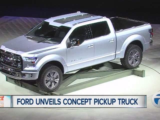 Ford shows new F-150 Atlas pickup truck concept - WXYZ.com