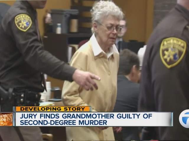 grandmother sandra layne found guilty of 2nd degree murder
