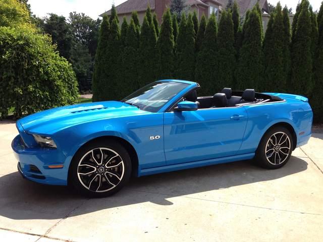 Light Blue Mustang Convertible Www Pixshark Com Images