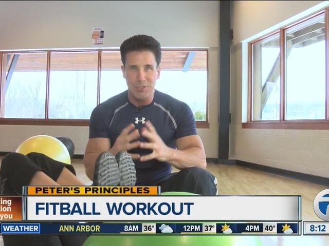 Peters Principles using a fitball