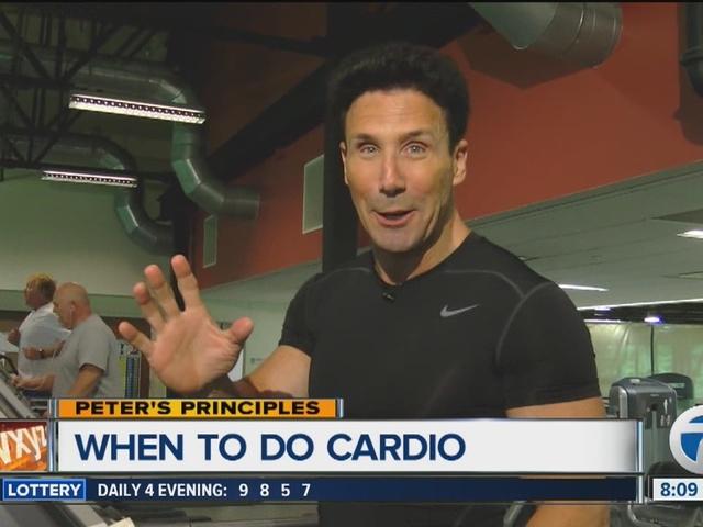 Peter's Principles - When to do cardio