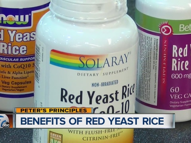 Peter's Principles, benefits of red yeast rice