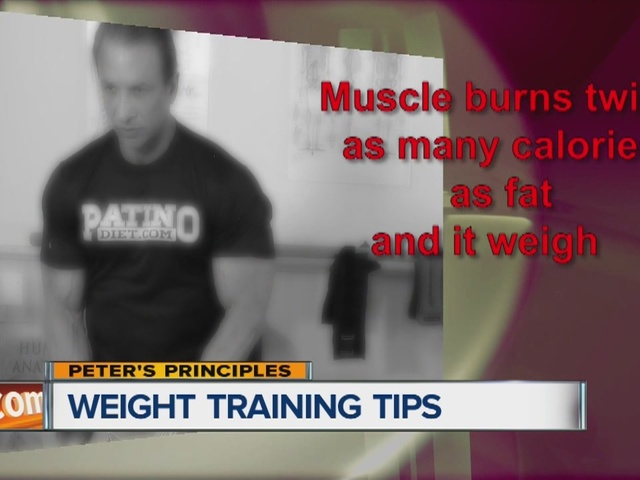 Peter's Principles, weight training tips