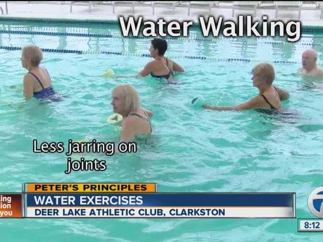 Peter's Principles, water exercises
