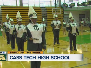 BAND OF THE WEEK: Cass Tech marching band