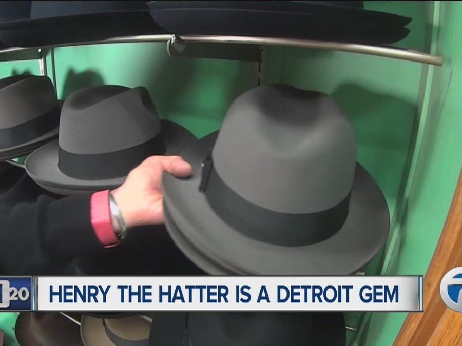 Detroit 2020  Henry the Hatter is a Detroit gem - WXYZ.com f523039d352