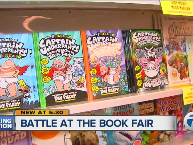 Newest Captain Underpants Banned From Local Book Fair Wxyz Com