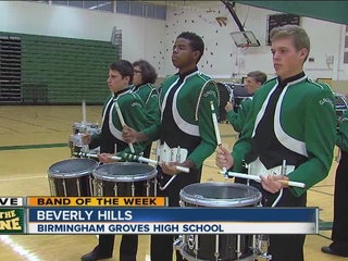 BAND OF THE WEEK: Birmingham Groves High School