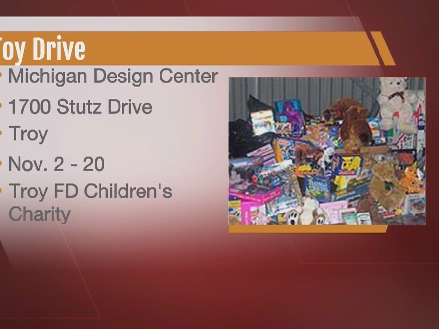 Michigan Design Center Toy Drive To Benefit Troy Fire Departments