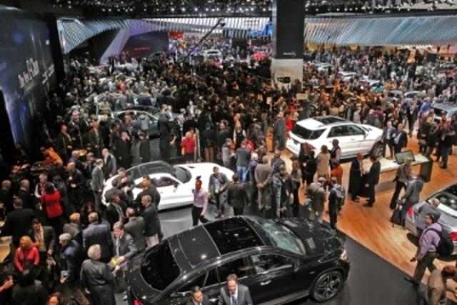 North American International Auto Show Attendance Rises Again For - International auto show