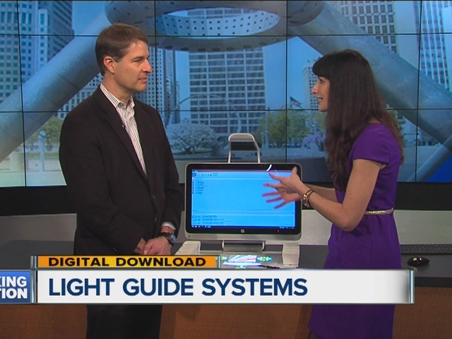 System Uses Light To Guide Product Assembly. WXYZ