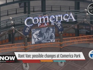 RANT VAN: Comerica Park name change?