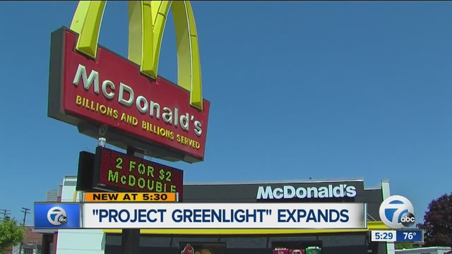 Detroits project green light security program expands to mcdonalds detroits project green light security program expands to mcdonalds restaurants aloadofball Image collections
