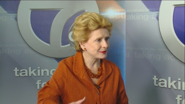 senator debbie stabenow says the the trans pacific partnership tpp isn t right for michigan