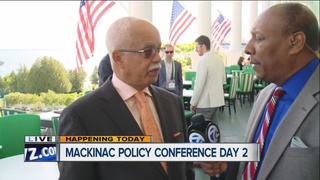 Evans talks jail redevelopment at Mackinac