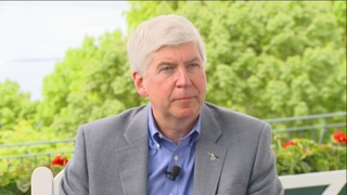 Gov. Snyder addresses DPS legislation