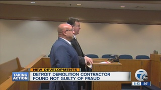 Demolition contractor found not guilty of fraud