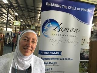Najah Bazzy: Founder of Zaman International