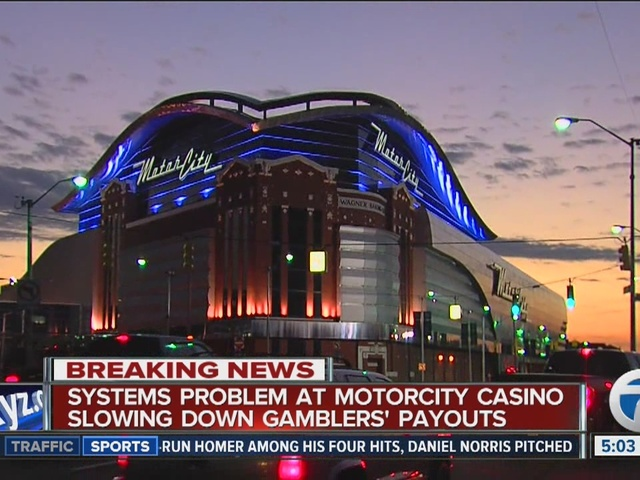 System problem at motorcity casino in detroit slows down for Motor city casino com stay