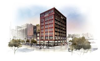 Construction underway at Detroit's Shinola Hotel