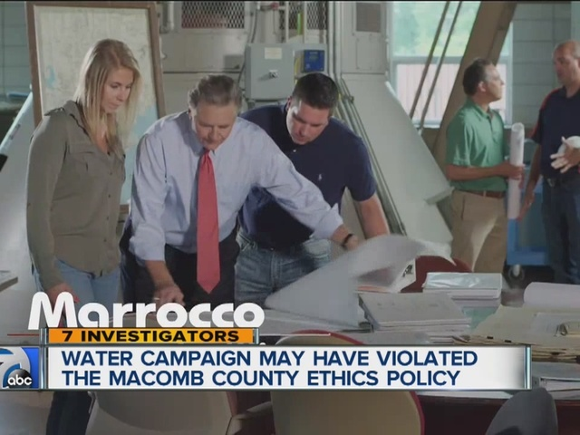 Macomb water campaign may have violated ethics policy