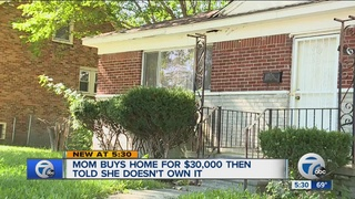 Mother told she doesn't own home she paid for