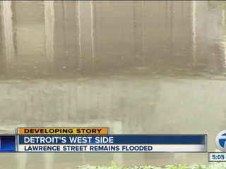 Parts of Detroit still dealing with flooding