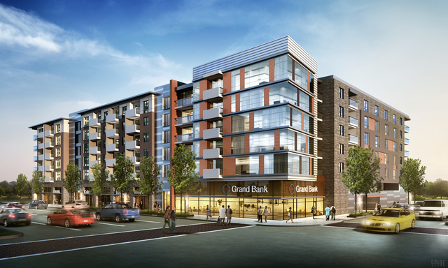 Groundbreaking Held For 53 Million Apartment Building