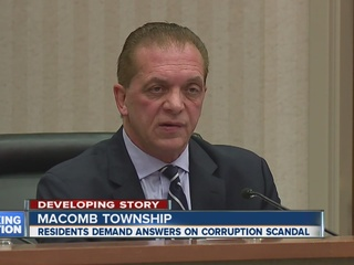Macomb Twp. official faces outrage
