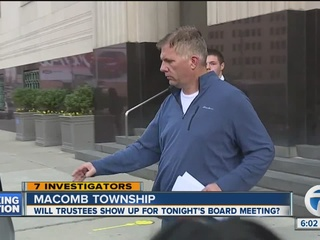 Will Macomb Twp. trustees show up for meeting?