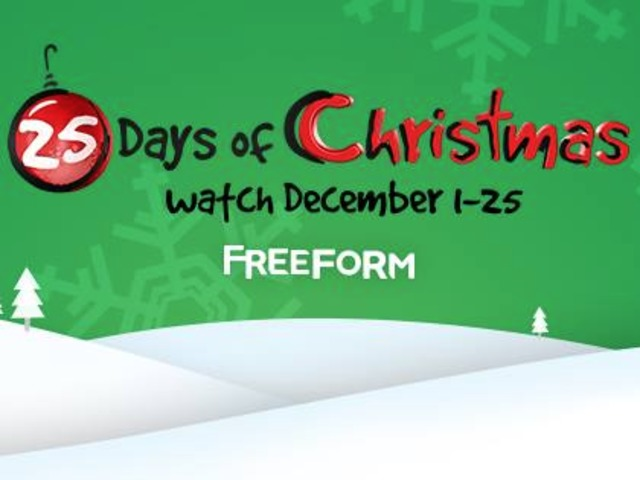 freeform releases 25 days of christmas lineup - 25 Days Of Christmas Lineup