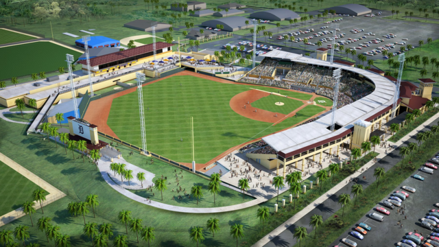Detroit tigers announce spring training schedule renovations to