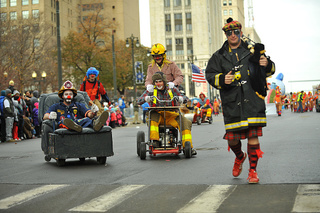 Detroit street closures on Thanksgiving