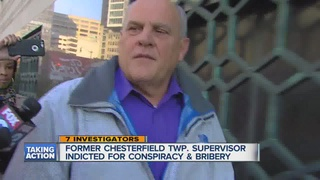 Fmr. Chesterfield Twp. supervisor indicted