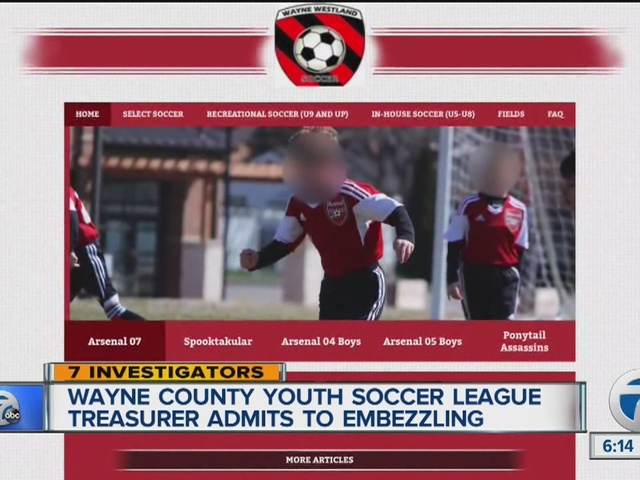 soccer club embezzlement case