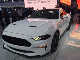 Ford Introduces Mustang At Detroit Auto Show And In Partnership - 2018 car show