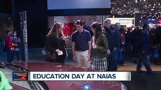 Education day a hit with students at auto show