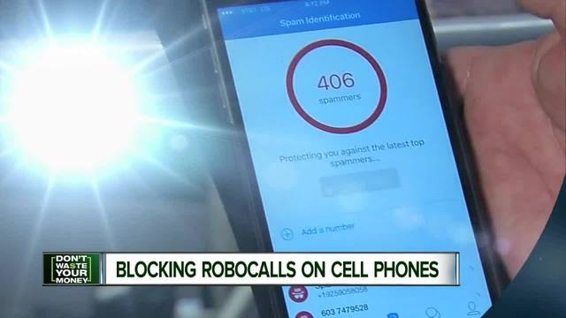Block a cell phone signal - block cell phone robocalls