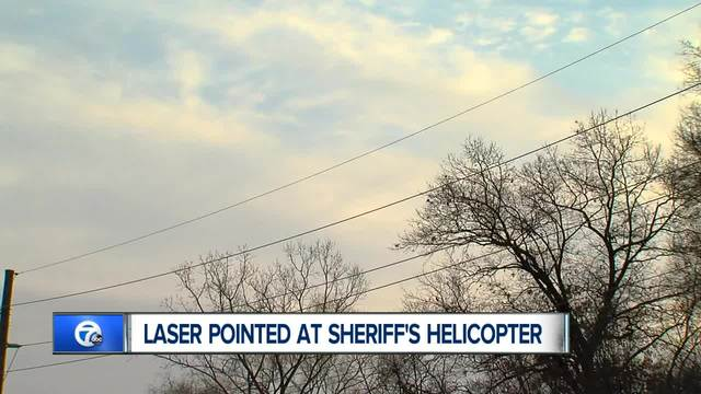 Oakland County Sheriff Blasts Illegal Use Of Laser