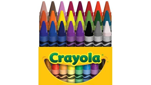 crayola to retire one crayon color from 24 count pack which one