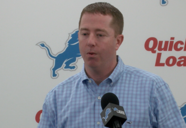 Lions Announce Contract Extension For Executive VP And GM Bob Quinn