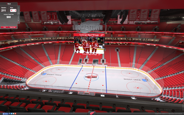 full season tickets available for red wings pistons at little