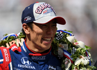 Sato still celebrating historic Indy 500 win