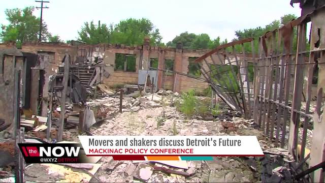 Movers and shakers discuss Detroit-s future at Mackinac Policy Conference
