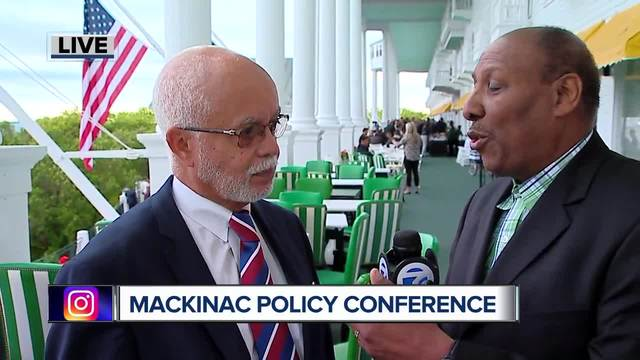Warren Evans at the Mackinac Policy Conference