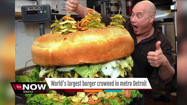 Metro Detroit Restaurant adds $8,000 burger to menu - WXYZ.com