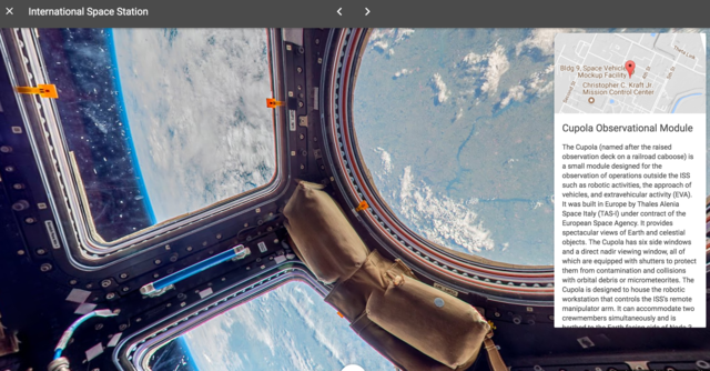 Out of this world you can now explore the international space out of this world you can now explore the international space station with google street view wxyz gumiabroncs Choice Image