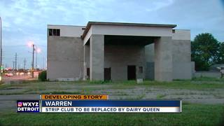 DQ opens at site of former strip club in Warren